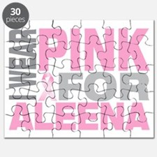 I-wear-pink-for-ALEENA Puzzle