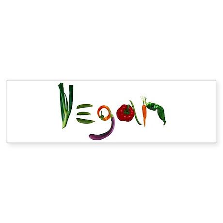Vegan Bumper Sticker