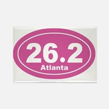 262_atlanta_pnk Rectangle Magnet