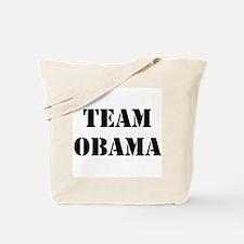 2-Sided Team Obama Tote Bag