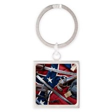 Civil War T-shirts Square Keychain