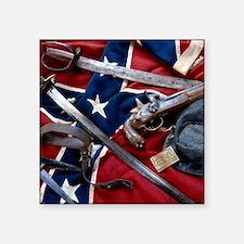 """Civil War T-shirts Square Sticker 3"""" x 3"""""""