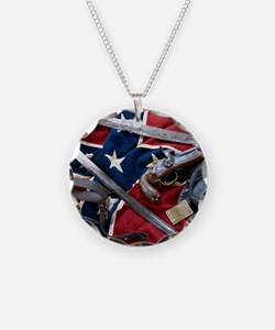 Civil War T-shirts Necklace