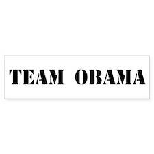 Team Obama Bumper Bumper Sticker
