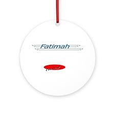 Bibi Fatimah Ornament (Round)
