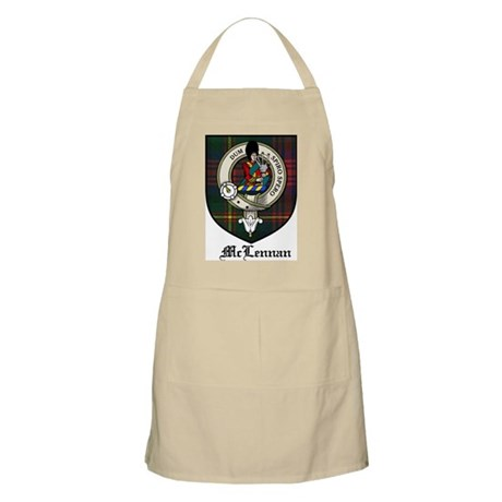 McLennan Clan Crest Tartan BBQ Apron