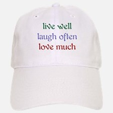 Live Well Baseball Baseball Cap