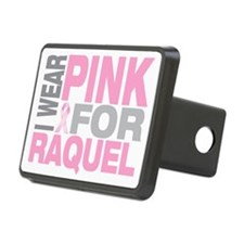 I-wear-pink-for-RAQUEL Hitch Cover