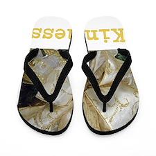 BOW OF KINDNESS. Flip Flops