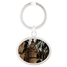 Conventual De San Benito Salorino, E Oval Keychain
