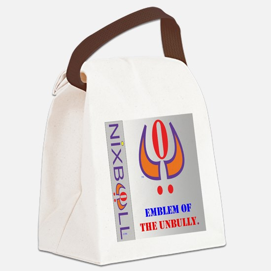 THE UNBULLY GRY Canvas Lunch Bag