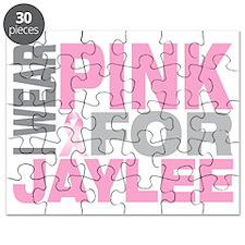 I-wear-pink-for-JAYLEE Puzzle