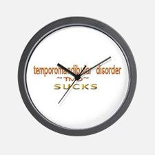 temporomandibular disorder Wall Clock