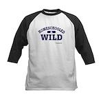 Homeschooled & Wild Kids Baseball Jersey