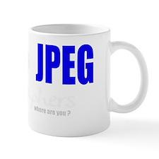cafe -  raw vs JPEG Mug
