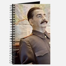 Seated wax figure of WWII Russian leader J Journal