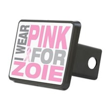 I-wear-pink-for-ZOIE Hitch Cover