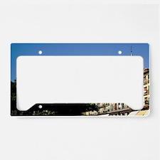 Spain, Segovia. Plaza Mayor,  License Plate Holder