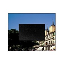 Spain, Segovia. Plaza Mayor, cathedr Picture Frame