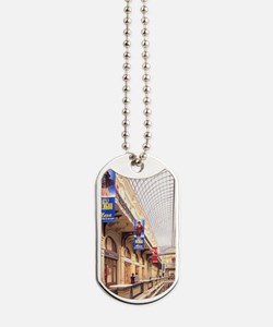 Famous Gum Department Store Red Square in Dog Tags