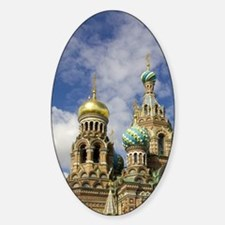 Russia. St. Petersburg. Church on S Decal