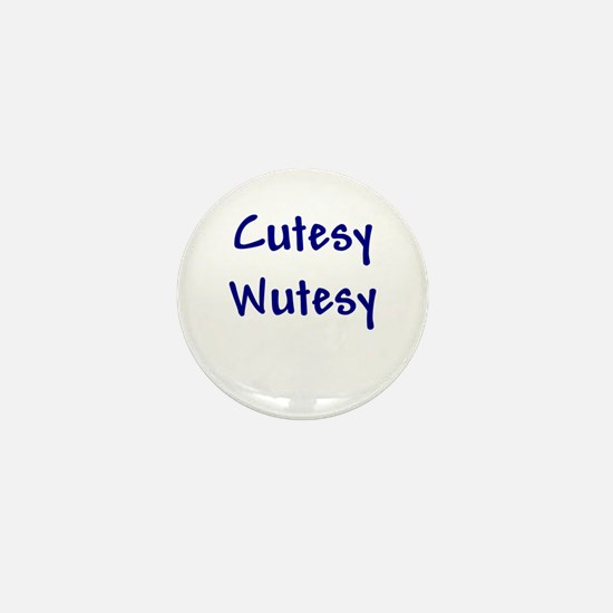 Cutesy Wutesy Mini Button