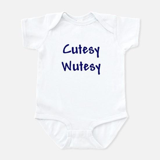 Cutesy Wutesy Infant Bodysuit