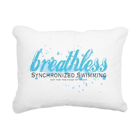 Breathless Rectangular Canvas Pillow