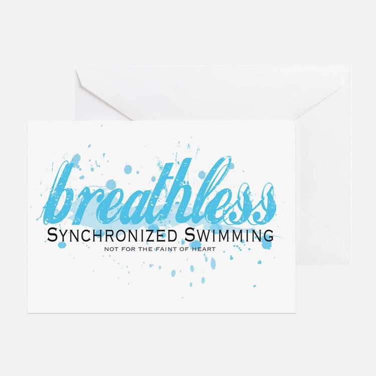 Breathless Greeting Card