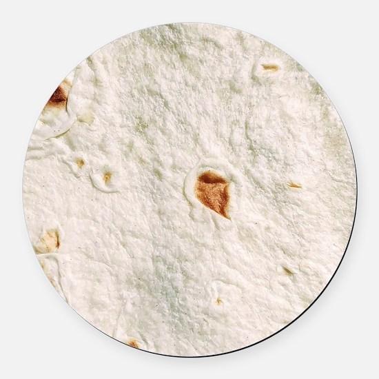 tortilla Round Car Magnet