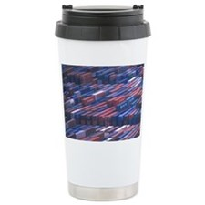 EU, Spain, Barcelona, Shipping  Travel Mug