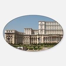 Palace of Parliament aka House of t Sticker (Oval)