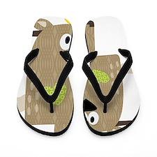 Cafepress woodland-04 Flip Flops