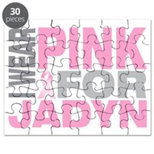 I-wear-pink-for-JADYN Puzzle