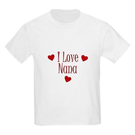 I Love Nana Kids T-Shirt