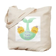 Twin Girls Tote Bag