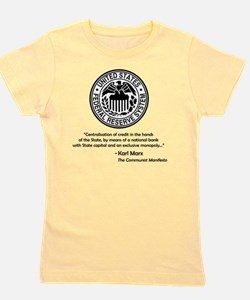 marx_central_bank Girl's Tee