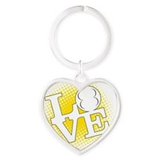 LoveAllMotor Heart Keychain