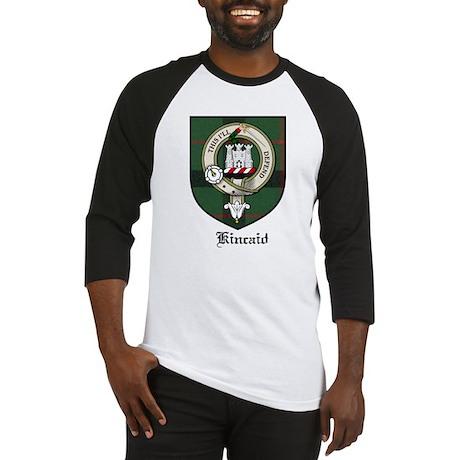 Kincaid Clan Crest Tartan Baseball Jersey