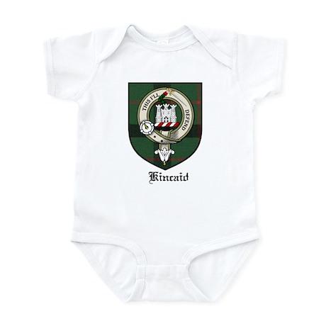 Kincaid Clan Crest Tartan Infant Bodysuit