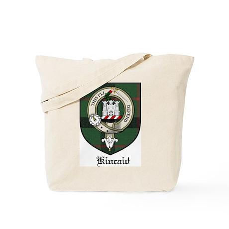 Kincaid Clan Crest Tartan Tote Bag