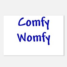Comfy Womfy Postcards (Package of 8)