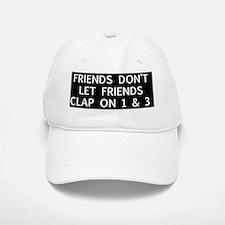clap1 Baseball Baseball Cap