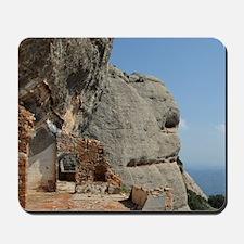 Catalunya. Benedictine monastery of Mont Mousepad
