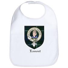 Lamont Clan Crest Tartan Bib