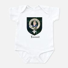 Lamont Clan Crest Tartan Infant Bodysuit
