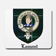 Lamont Clan Crest Tartan Mousepad