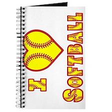 yellow sideways, Love Softball 2 Journal