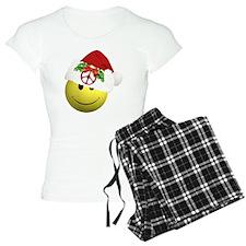 happy_santa_peace10x10 Pajamas
