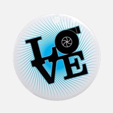 LoveBoost Round Ornament